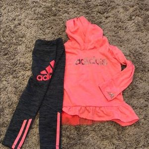 Toddler adidas outfit